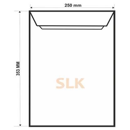 Конверт B4, SLK, 250x353