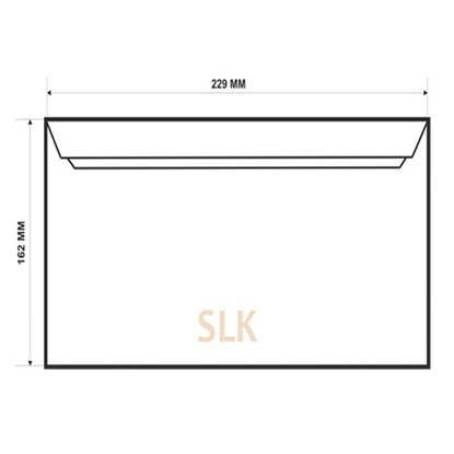 Конверт C5 SLK внутренняя печать (162*229)