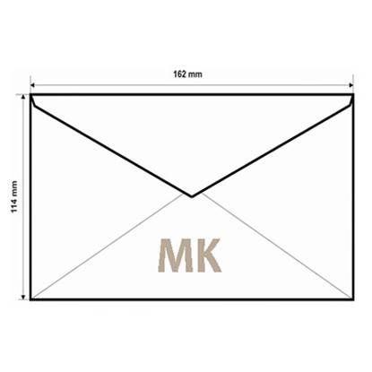 Конверт C6 MK, 114x162