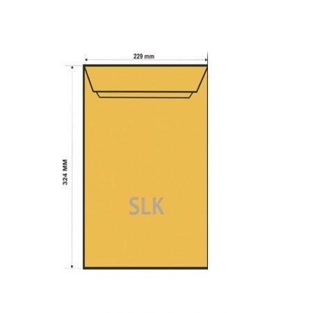 Конверт C4 SLK крафт (229*324)