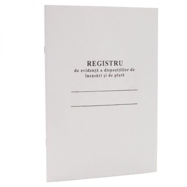 """Бухг книга """"Registru de evidenta a dispozitiilor de incasari si de plata"""", офсетная бумага, 50 л."""